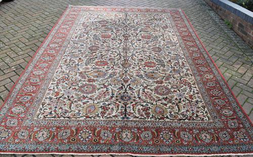 Old Qum Roomsize Carpet 352x236cm (1 of 6)