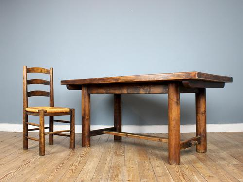 Mid-Century Dining Set attributed to Charles Dudouyt (1 of 8)