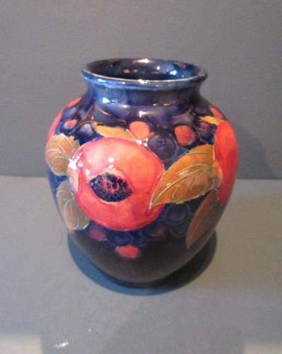 Moorcroft Seeded Pomegranate Shaped Vase (1 of 7)