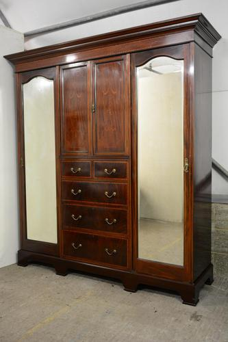 Mahogany Compactor Wardrobe (1 of 5)