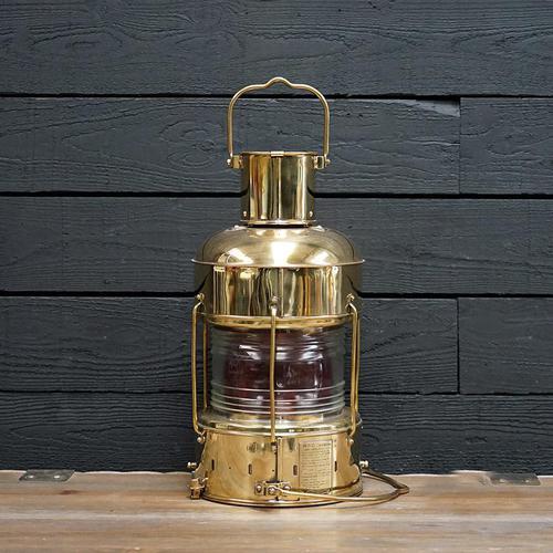 Original Ships Brass Nippon Sento Co – Oil Lamp (1 of 7)