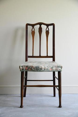 Single Edwardian Occasional Chair (1 of 10)