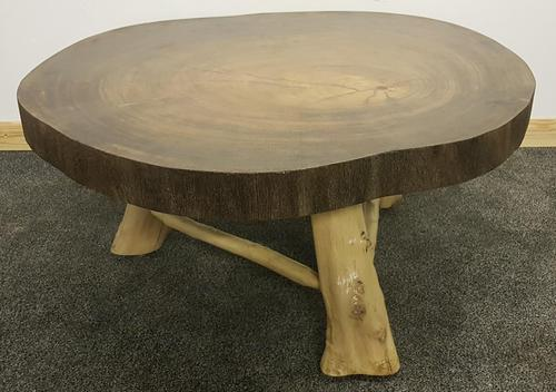 20th Century Large Hardwood Trunk Table (1 of 6)