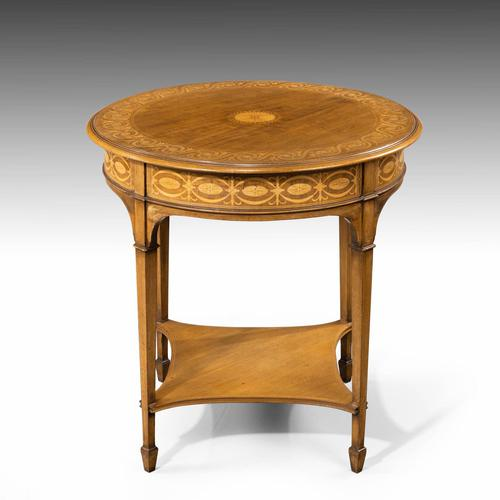 Very Fine Quality Early 20th Century Mahogany Centre Table (1 of 5)