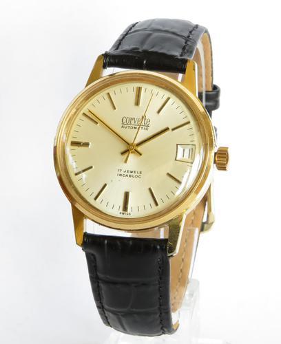 Gents 1970s Corvette Wrist Watch (1 of 5)
