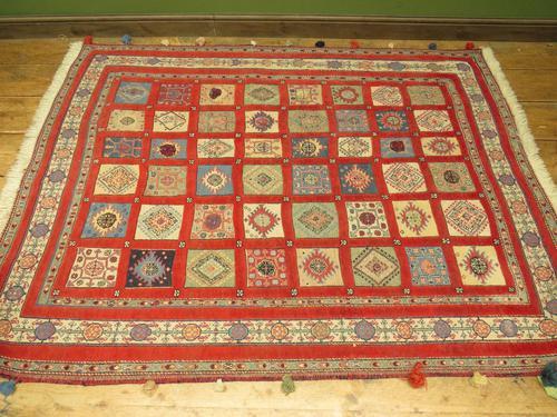 Superbly Colourful Antique Rahra Rug, Kilim Rug (1 of 13)