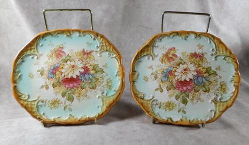 Pair of 19th Century S Fielding & Co Teapot Stands (1 of 4)
