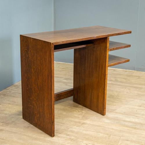 Modernist Oak Desk (1 of 6)