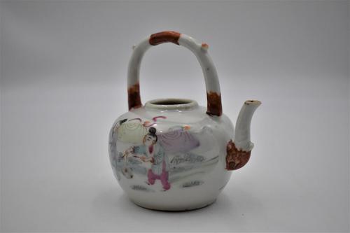 Chinese Porcelain Famille Rose Tongzhi Pot (1 of 6)