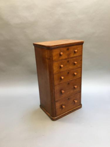 Victorian Narrow Chest of Drawers (1 of 11)
