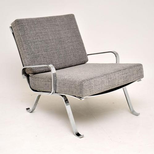 1960's Chrome Vintage Armchair (1 of 9)