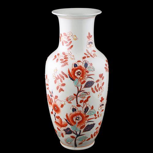 18th Century Style Chinese Porcelain Vase (1 of 8)