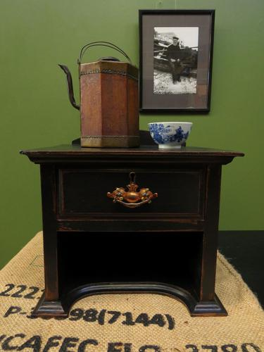 Small Black Antique Victorian Table Top Drawer for Jewellery 2 of 2 (1 of 10)