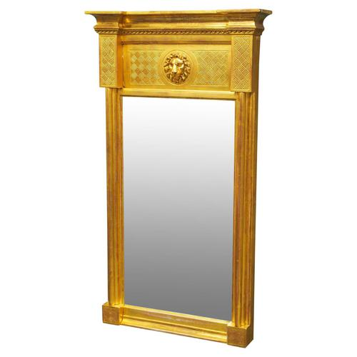 William IV Carved Giltwood Pier Mirror (1 of 10)