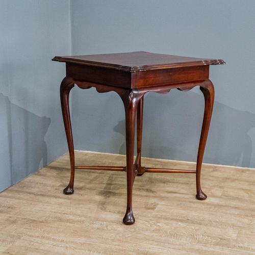 Edwardian Mahogany Occasional Table (1 of 7)