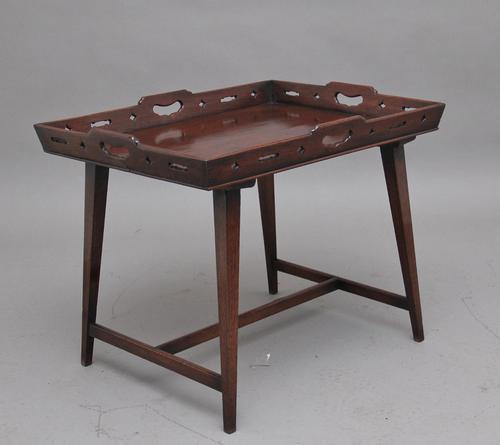 Early 19th Century Mahogany Tray Top Table (1 of 6)