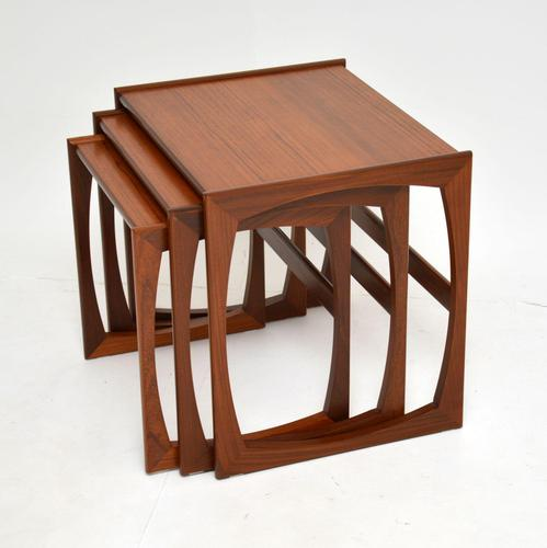 Teak Vintage Quadrille Nest of Tables by G Plan (1 of 10)
