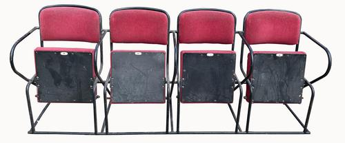 Set of Cinema Seats in Red Vevet (1 of 2)