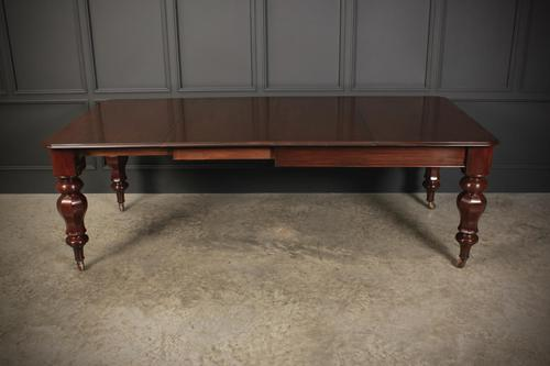 Victorian Mahogany Extending Dining Table (1 of 13)