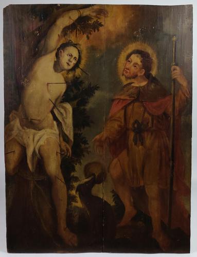 17th Century Religious Oil on Panel (1 of 7)