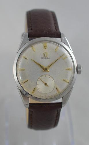 1956 Omega Stainless Steel Wristwatch (1 of 6)
