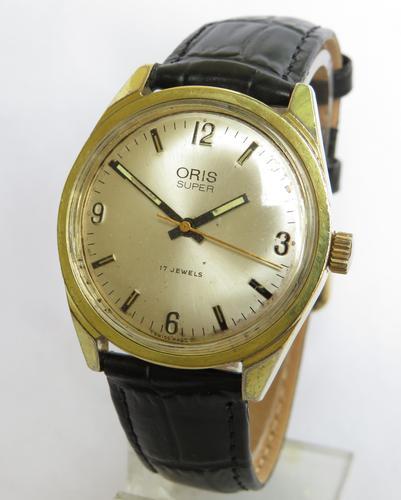Gents 1960s Oris Super wrist watch (1 of 4)