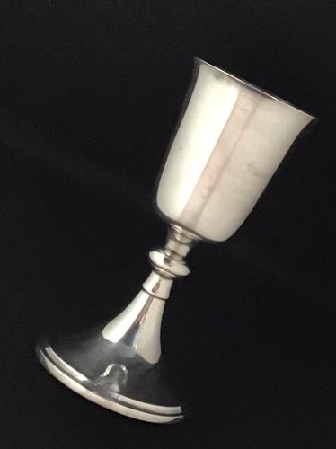 Arts & Crafts Silver Plated Goblet by A E  Jones (1 of 4)