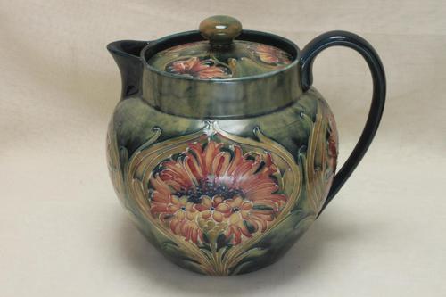 Moorcroft Teapot Cornflower Design (1 of 2)
