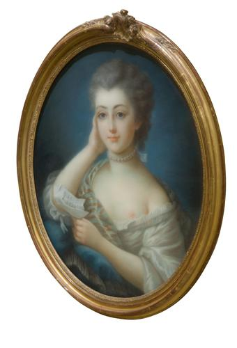 Oval Portrait of a Young Lady (1 of 6)