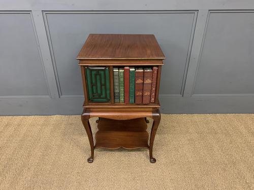 Good Mahogany Revolving Bookcase c.1900 (1 of 8)