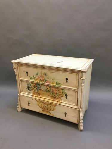19th Century Painted Commode Chest of Drawers (1 of 12)