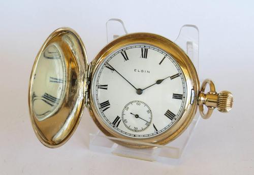 1922 Elgin Full Hunter Pocket Watch (1 of 5)