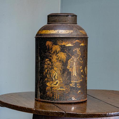 19th Century Tea Tin (1 of 12)