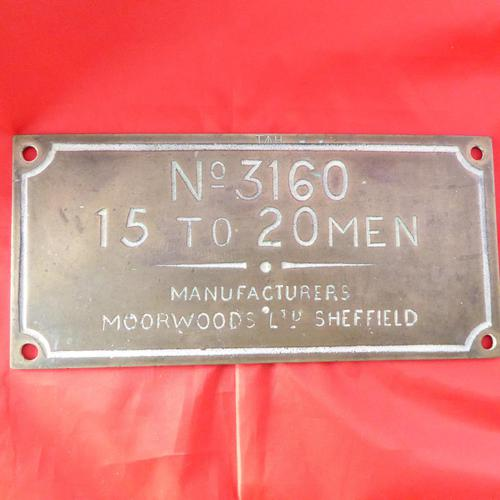 WW2 Admiralty Brass Lifeboat Plaque (1 of 3)