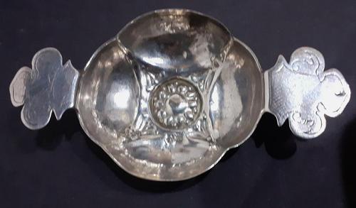 17th Century German Silver Wine Taster (1 of 9)