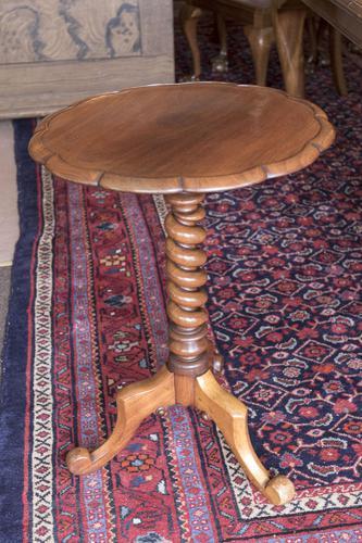 Mahogany Wine / Lamp Table (1 of 5)