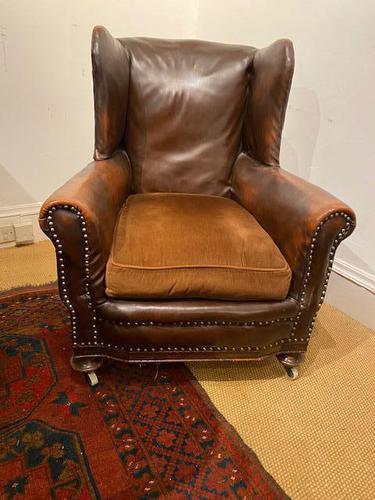 Leather Club / Wing Chair (1 of 3)