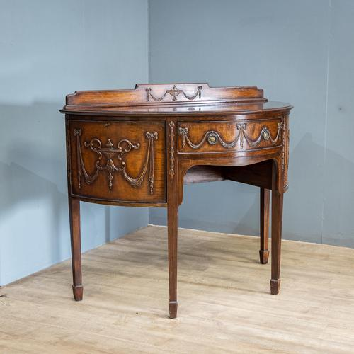 Neo Classical Demi Lune Sideboard (1 of 13)