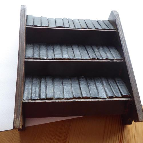 1930's Miniature Shakespeare Books and Bookcase (1 of 6)