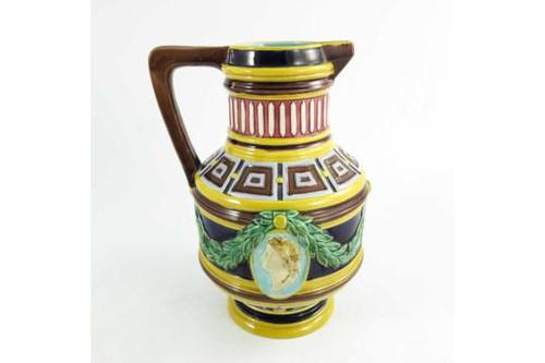 Majolica Jug c.1870 (1 of 5)