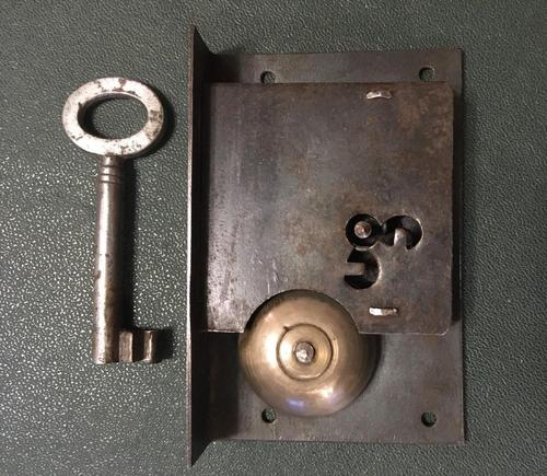 """Steel Cabinet Lock with """"tell-tale"""" Bell (1 of 7)"""