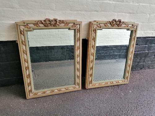 Good Pair of Rectangular French Mirrors (1 of 5)