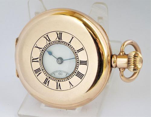 Waltham Marquis Half Hunter Pocket Watch, 1913 (1 of 6)