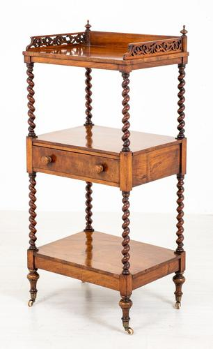 Rosewood Victorian Whatnot (1 of 9)