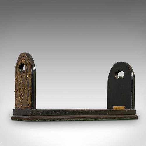 Antique Extending Book Slide, Coromandel, Bookend, Rack, Victorian c.1880 (1 of 11)