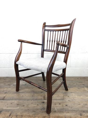 Antique 19th Century Spindle Back Chair (1 of 13)