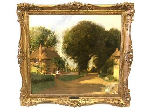 'In Sussex Lane' by Sir David Murray (1898) (1 of 7)