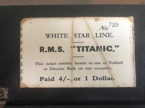RMS Titanic Ticket Dispenser 1912 (1 of 4)