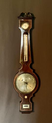 Fine Quality 18th Century Barometer / Thermometer (1 of 12)