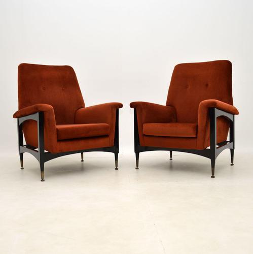 Pair of Italian Vintage Armchairs (1 of 10)